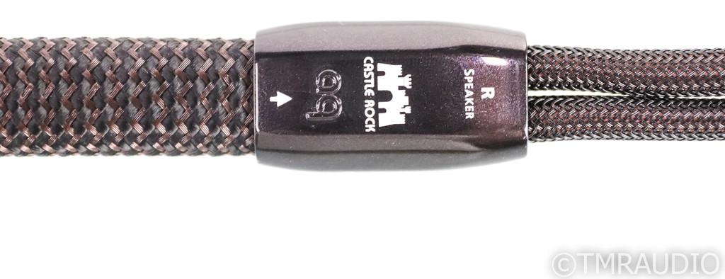 AudioQuest Castle Rock Speaker Cables; 5ft Pair; 72v DBS