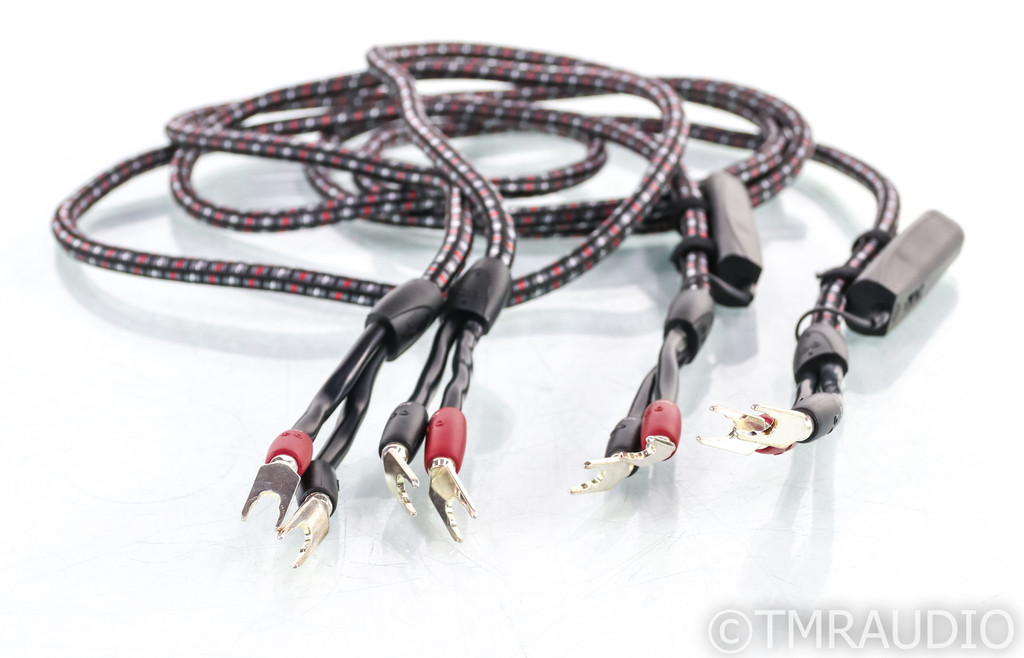 AudioQuest CV-8 Speaker Cables; 8ft Pair; CV8; 72v DBS (SOLD)