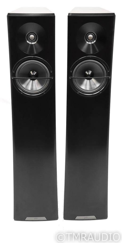 YG Acoustics Carmel 2 Floorstanding Speakers; Black Pair