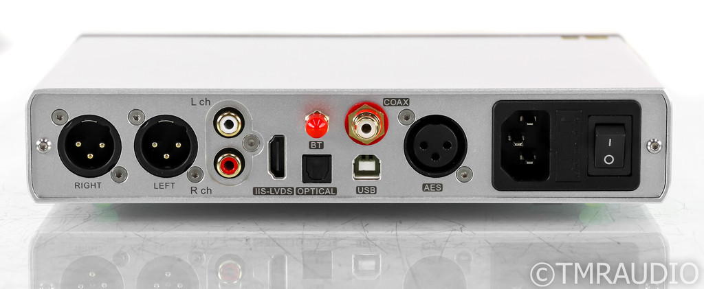 Topping D90 DAC; D/A Converter; D-90; Silver; Remote