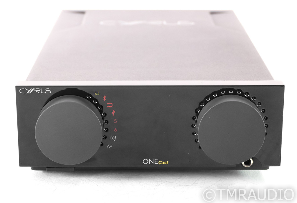 Cyrus OneCast Stereo Integrated Amplifier; Black; Remote
