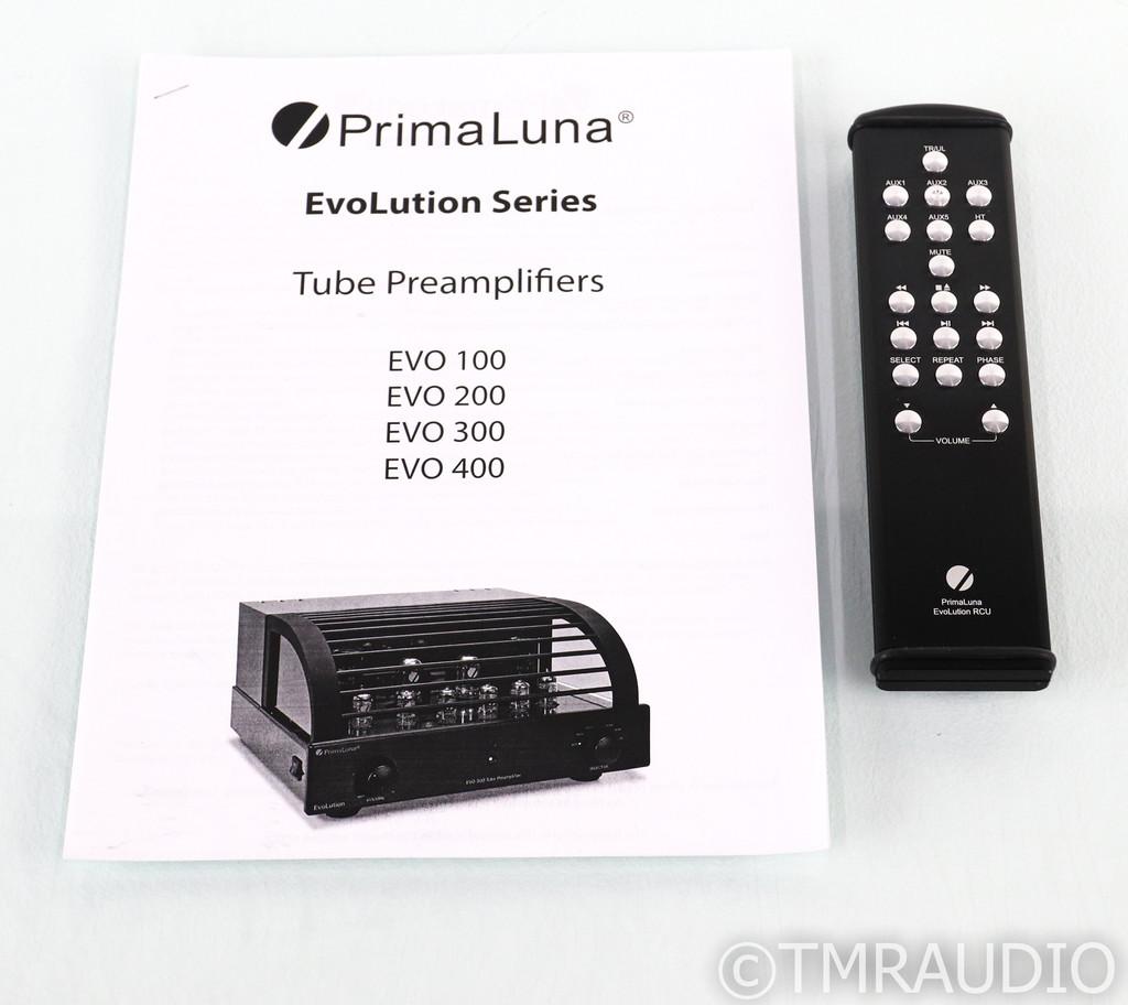 PrimaLuna EvoLution EVO 300 Stereo Tube Preamplifier; Remote