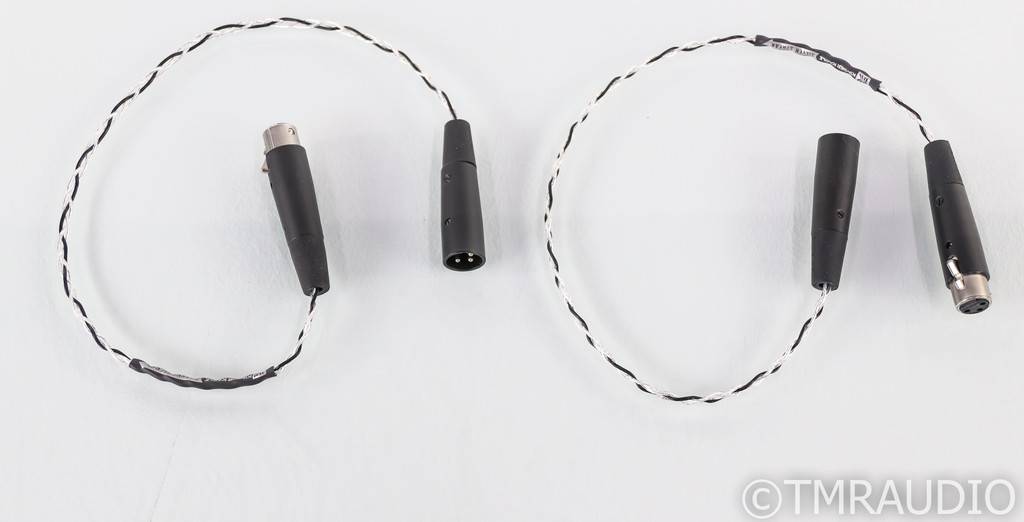 Kimber Kable Silver Streak XLR Cables; .5m Pair Balanced Interconnect (Open Box)