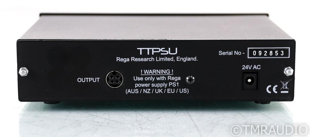 Rega RP6 Belt Drive Turntable; RP-6; Black; TT PSU; Rega Ania MC Cartridge