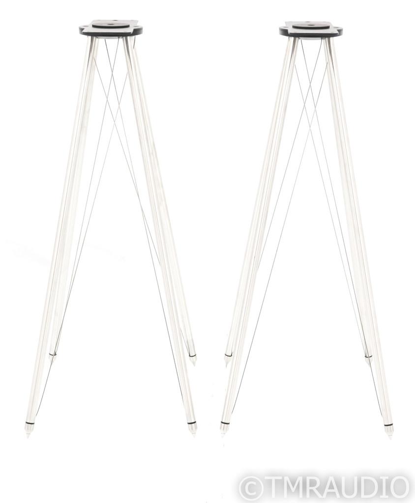 Q Acoustics FS75 Q Active Tensegrity Stands; Silver Pair (Open Box)