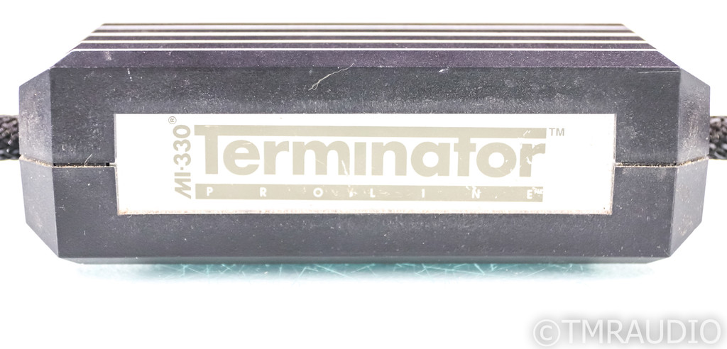MIT MI-330 Terminator XLR Cables; 1m Pair Balanced Interconnects