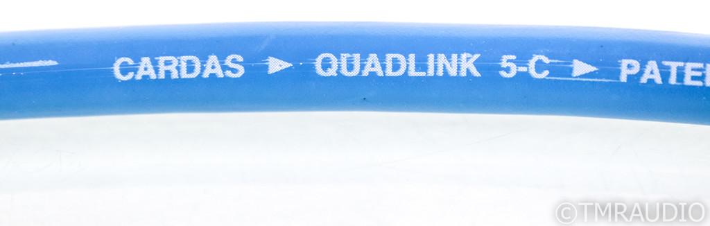 Cardas Quadlink 5C RCA Cables; 5-C; 1m Pair Interconnects (1/0)