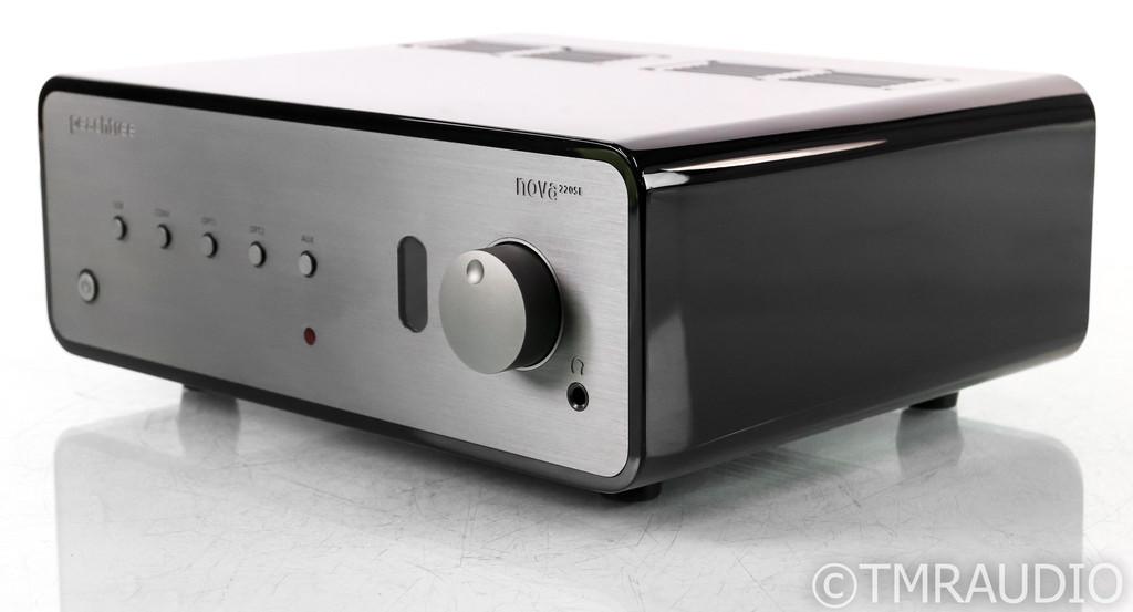 Peachtree Nova220SE Stereo Integrated Amplifier; High Gloss Black; Remote