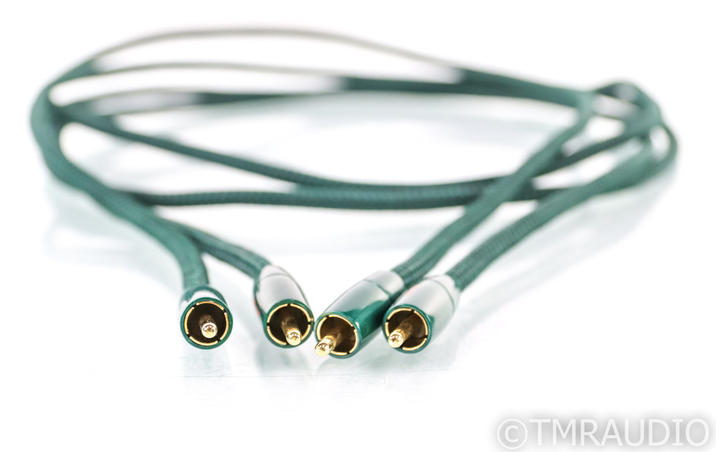 AudioQuest Chicago RCA Cables; 1.5m Pair Interconnects