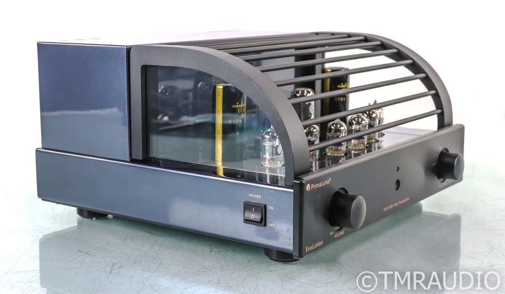Primaluna EvoLution EVO 400 Stereo Tube Preamplifier; EVO-400; Remote