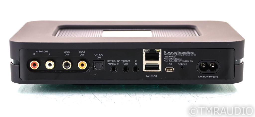 Bluesound Node 2i Network Streamer / DAC; Node-2I; Black