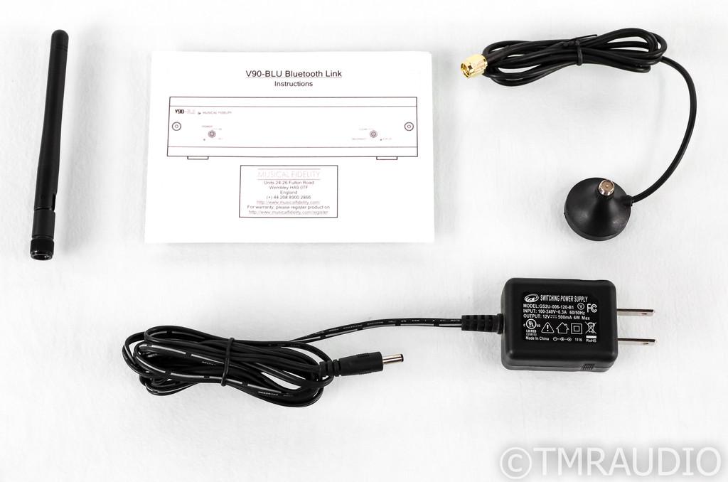 Musical Fidelity V90-BLU Bluetooth Receiver / DAC; V-90; D/A Converter