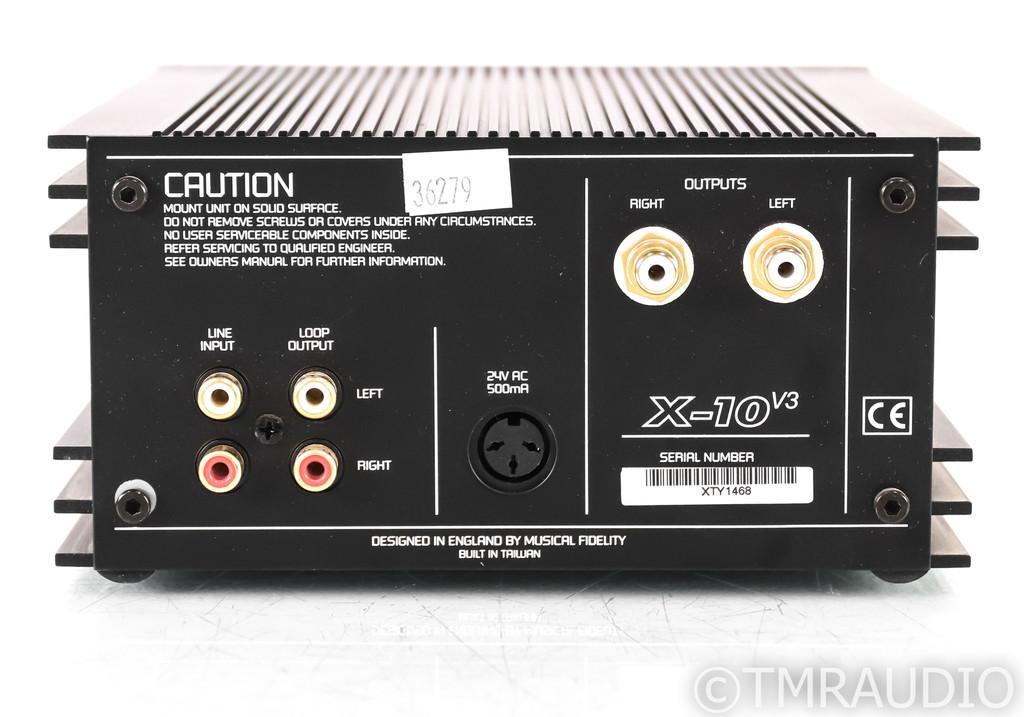 Musical Fidelity X-10 V3 Stereo Tube Buffer; X10V3 (No PSU)