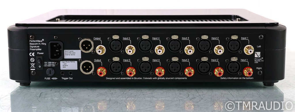 PS Audio PerfectWave BHK Stereo Tube Hybrid Preamplifier; Black (Used)
