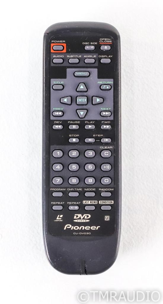 Pioneer DVL-919 DVD / LD Player; Remote; Laserdisc; Black