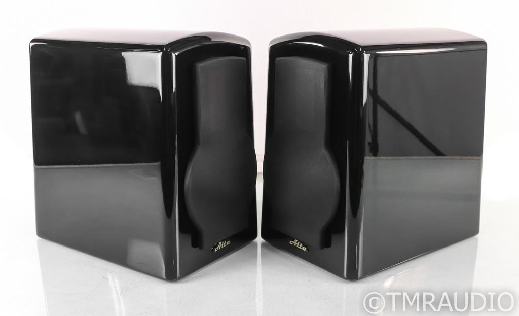 Alta Audio Celesta FRM-2 Bookshelf Speakers; Gloss Black Pair