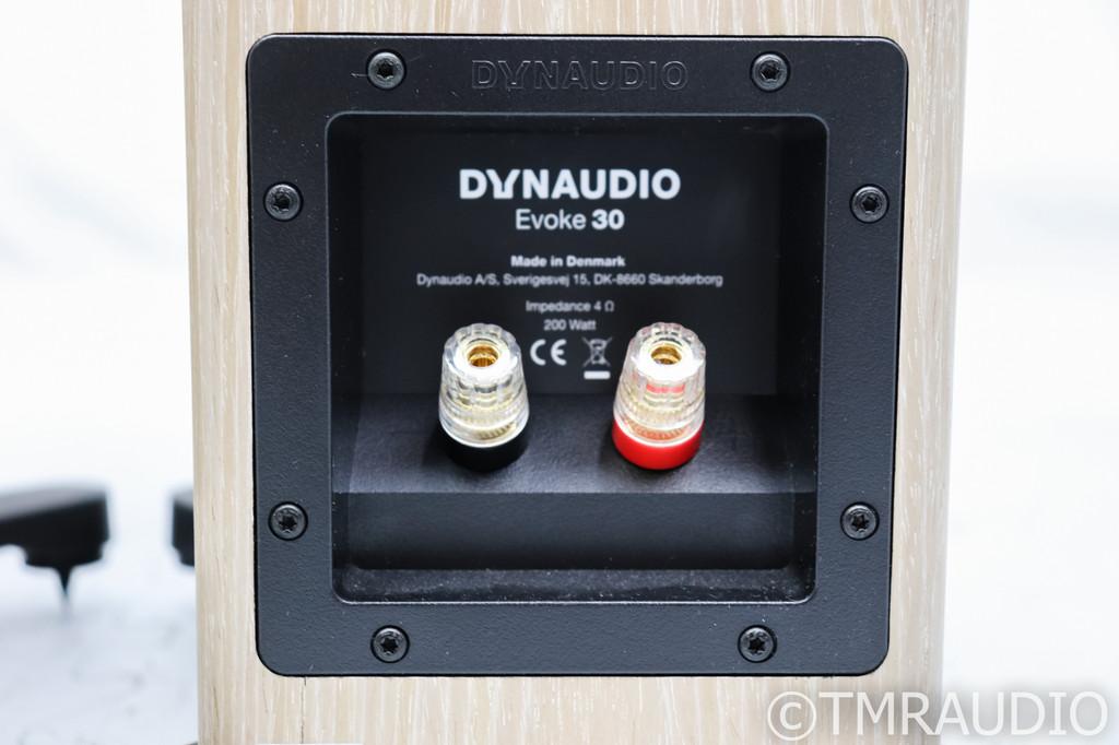 Dynaudio Evoke 30 Floorstanding Speakers; Blonde Wood Pair