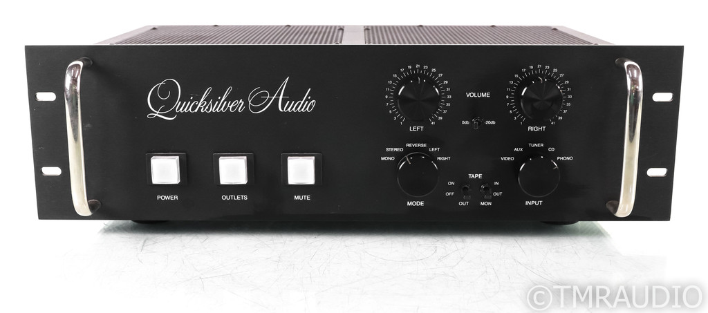 Quicksilver Audio Full Function Stereo Tube Preamplifier; MM Phono