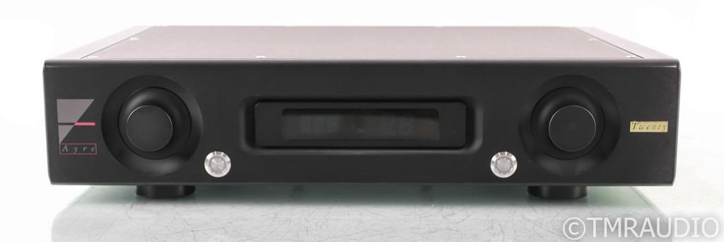 Ayre KX-5 Twenty Stereo Preamplifier; KX5; 20; Remote; Black - 3 Months