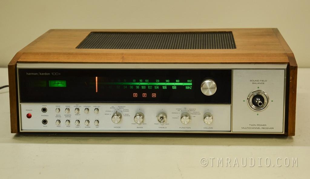 Harman Kardon 100+ Vintage Stereo / Multichannel Receiver