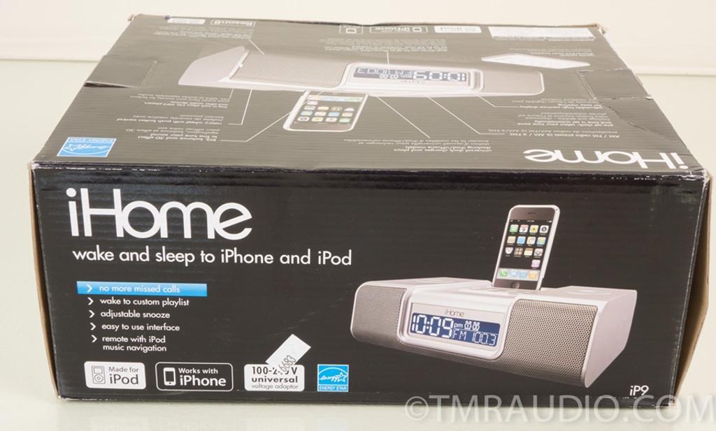 iHome iP9 Ipod Dock / Alarm Clock / Personal Stereo