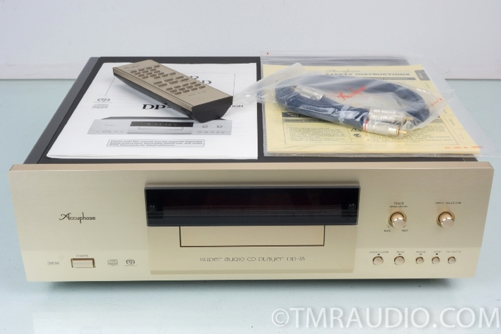 Accuphase DP-78 Reference CD / SACD Player