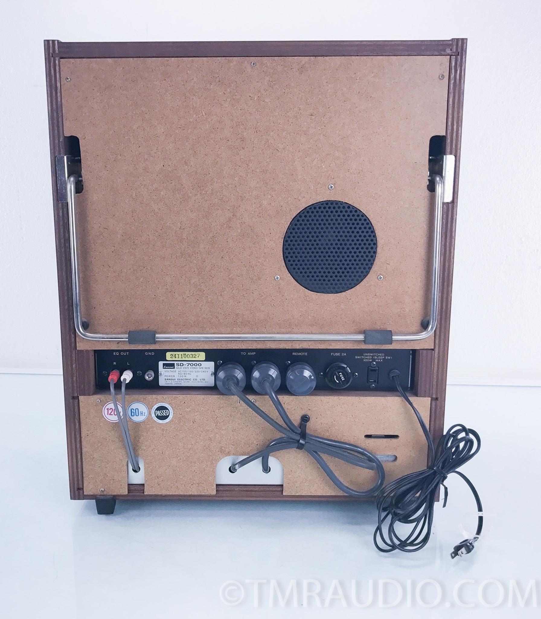 Sansui SD-7000 Vintage Reel to Reel Tape Recorder / Player