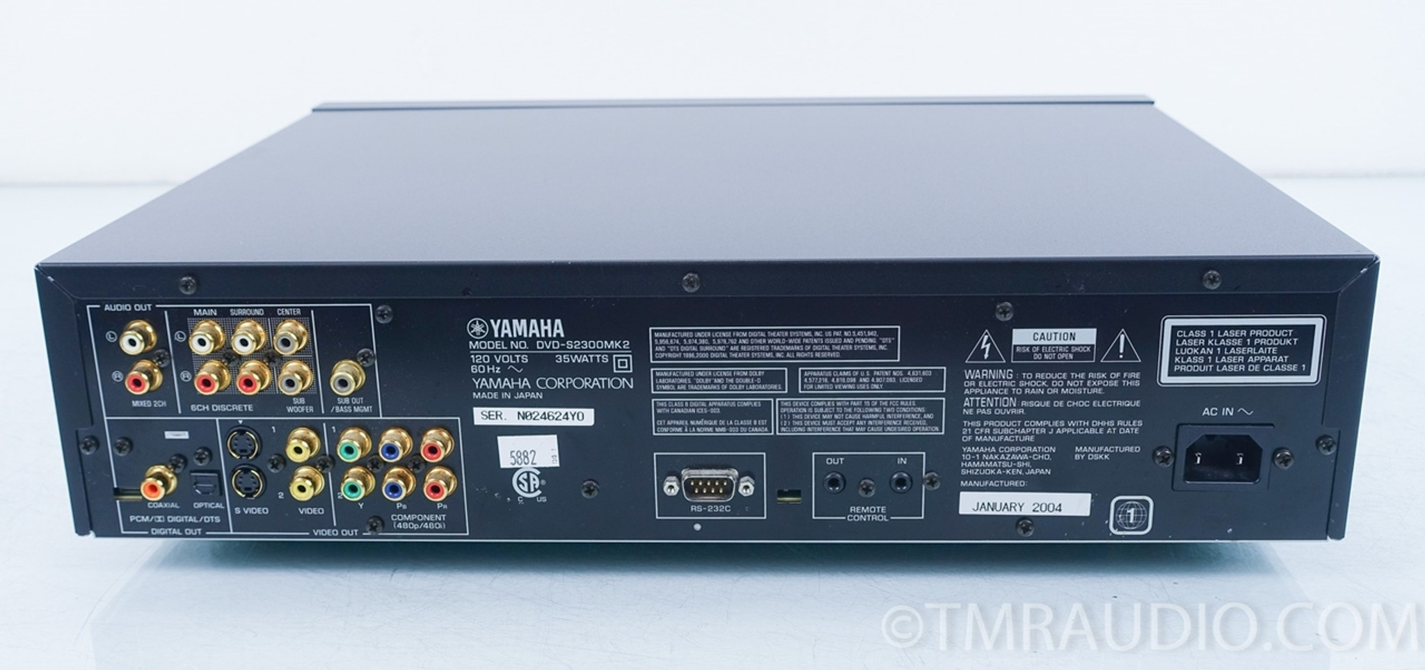 21558b37c Yamaha DVD-S2300 MK2 CD / DVD / SACD Player - The Music Room