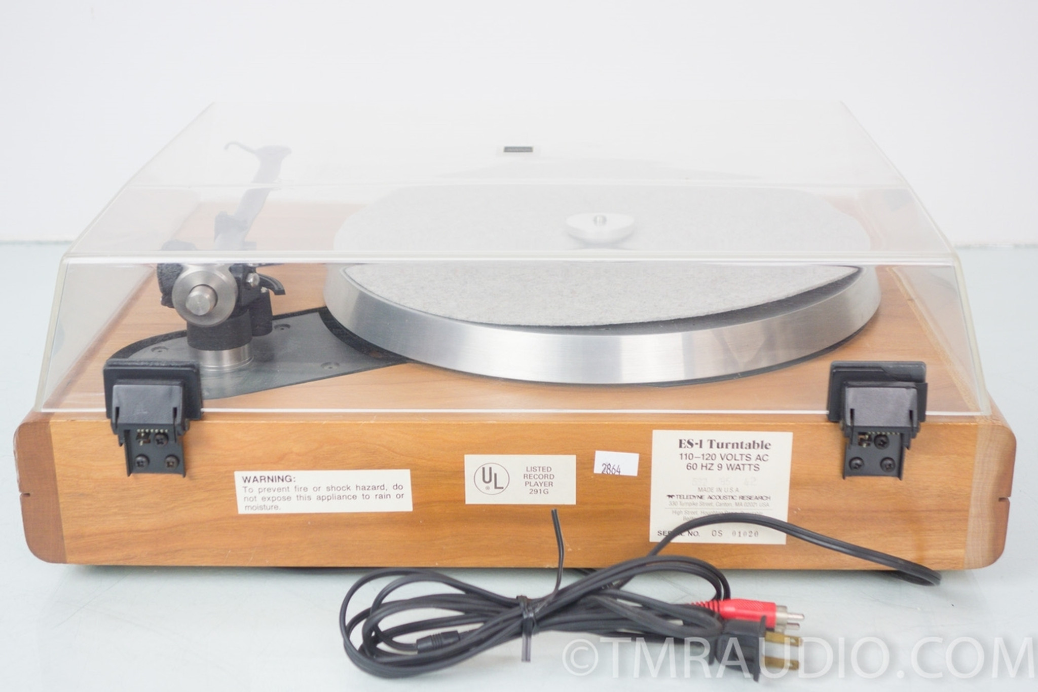 AR Teledyne Acoustic Research ES-1 Vintage Turntable - The Music Room