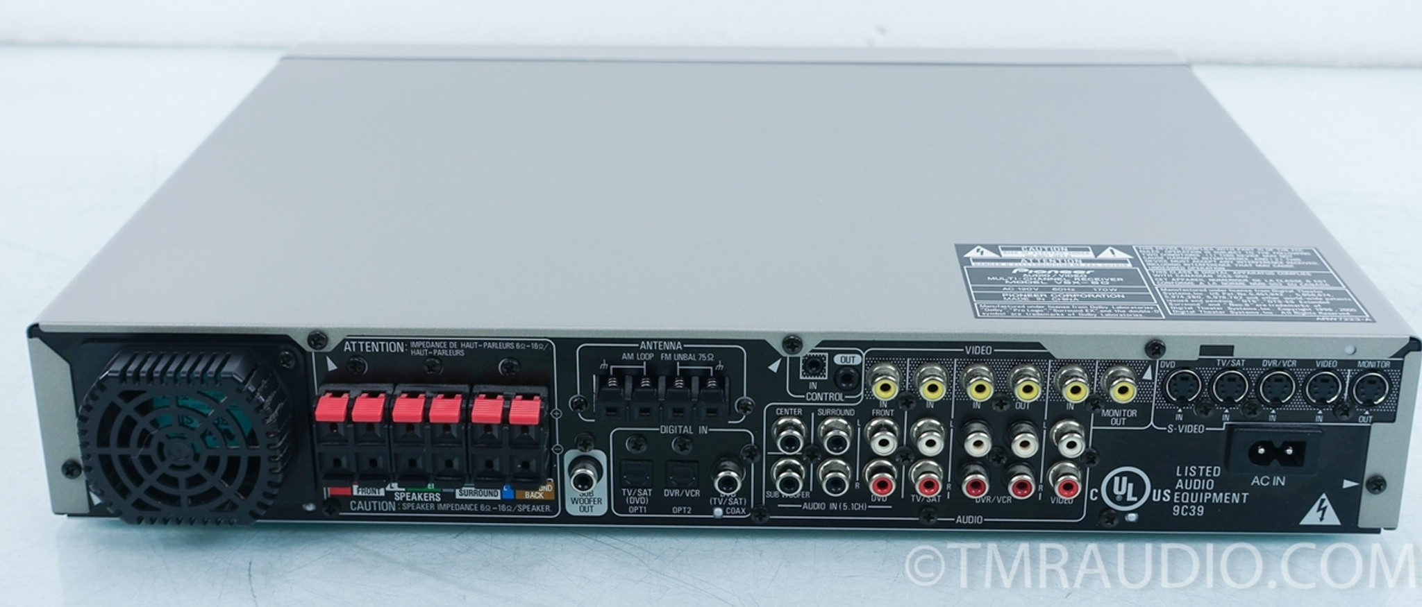 Pioneer Receiver No Sound From Tv