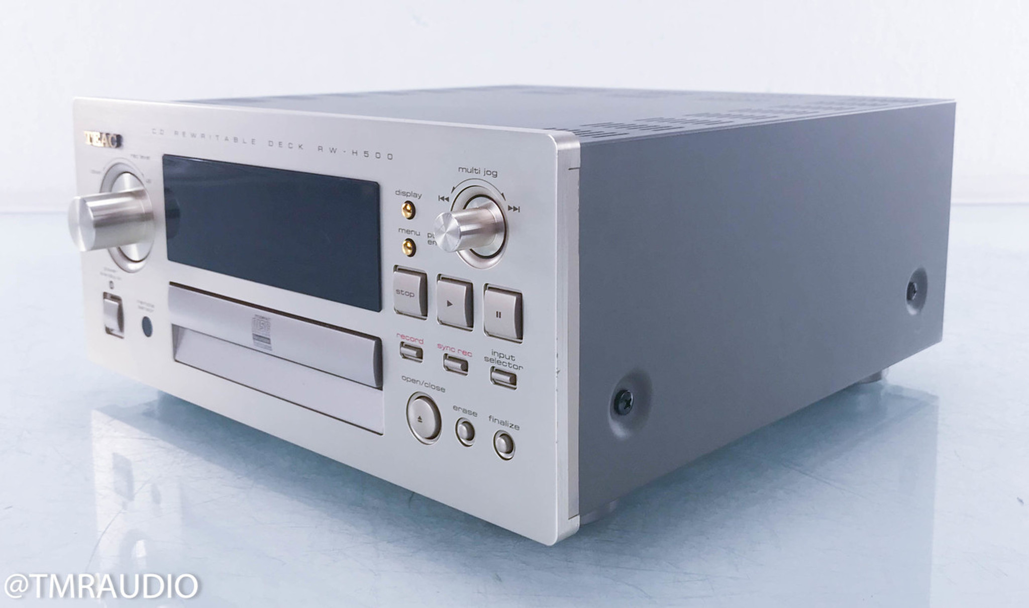 TEAC RW-H500 Reference Series CD Rewritable Deck / Player