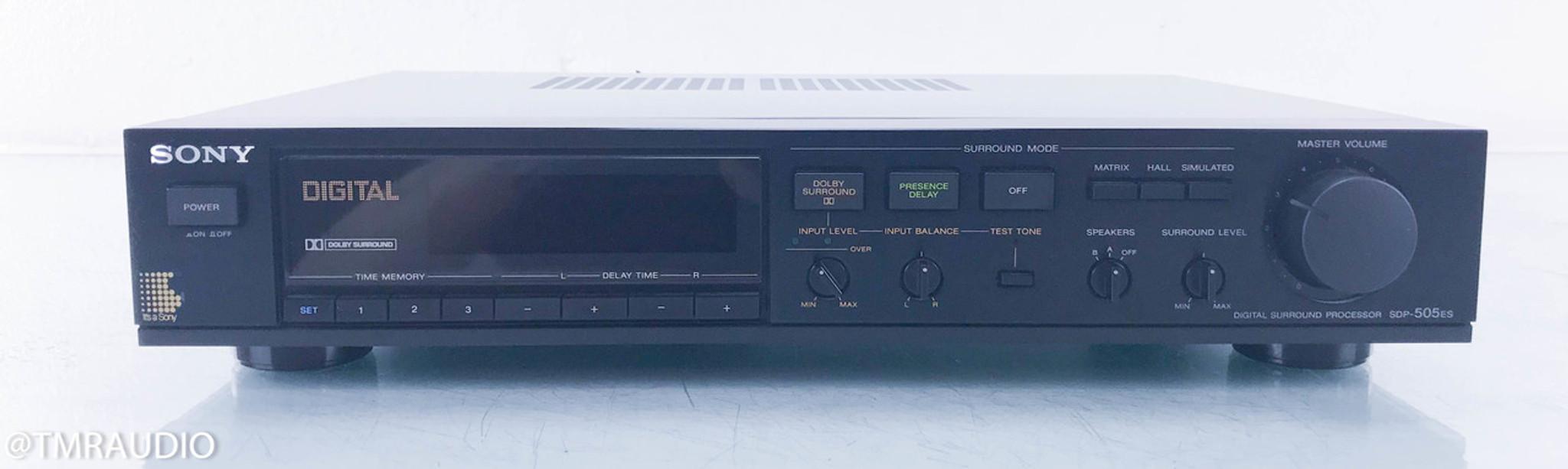 Sony SDP-505ES Digital Surround Processor / Amplifier