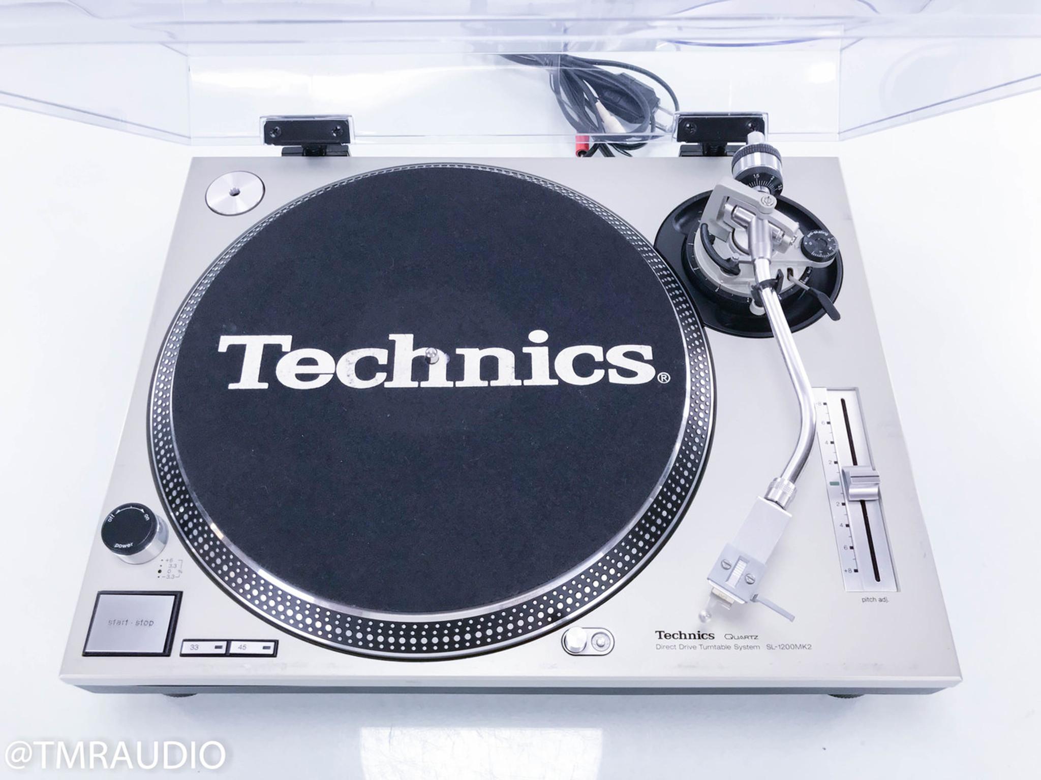 technics sl 1200mk2 turntable pickering xv 15 cartridge the music