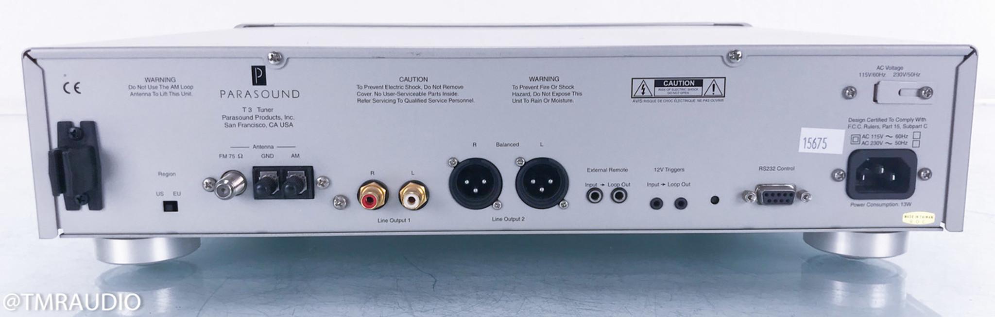 Parasound Halo T3 AM / FM Tuner (No Remote)