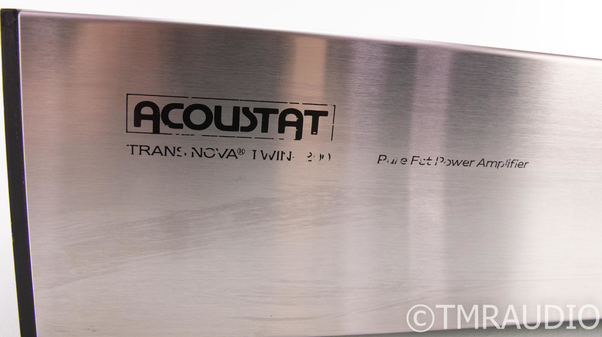 Acoustat TransNova Twin 200 Stereo Power Amplifier