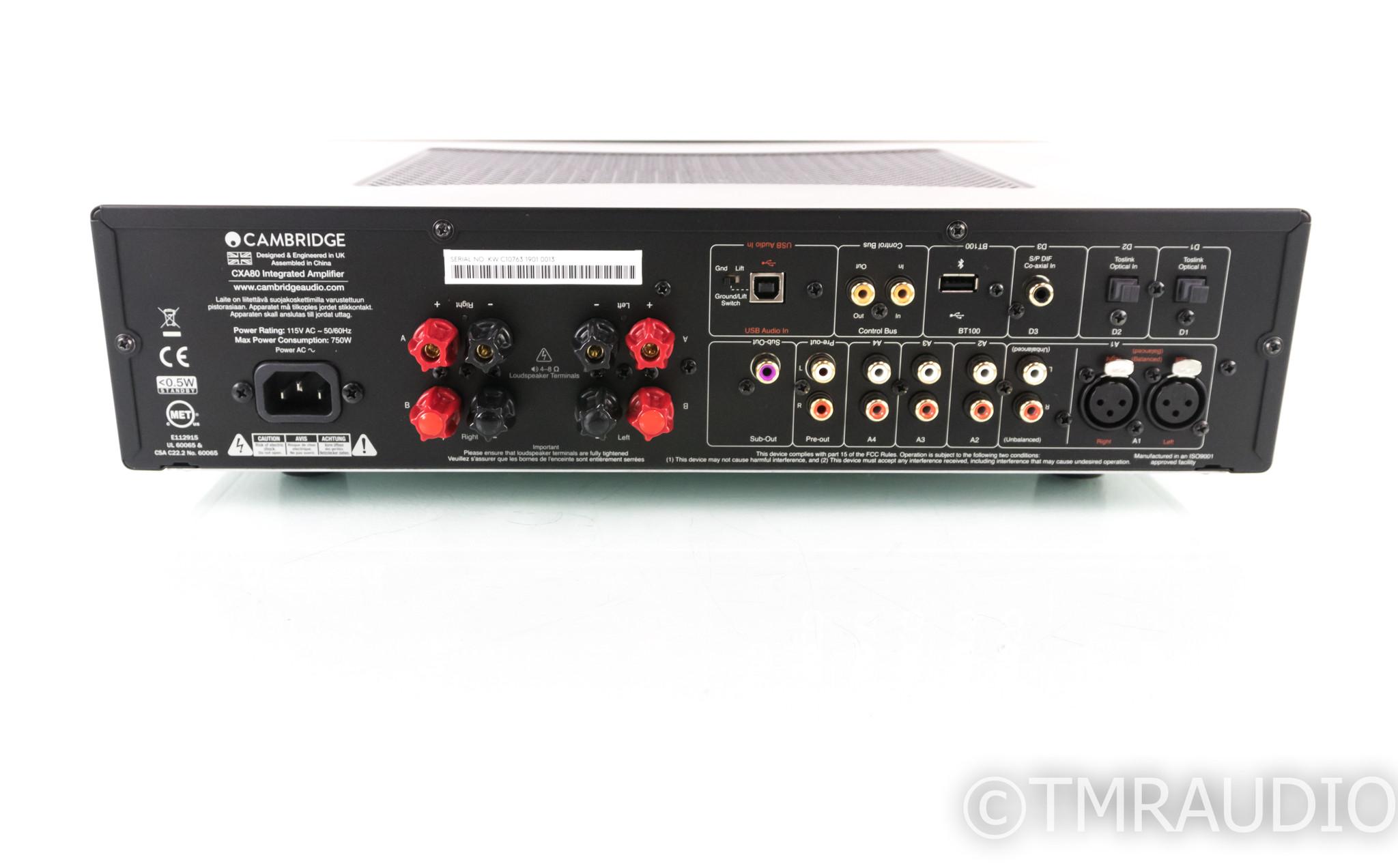 Cambridge CXA80 Stereo Integrated Amplifier