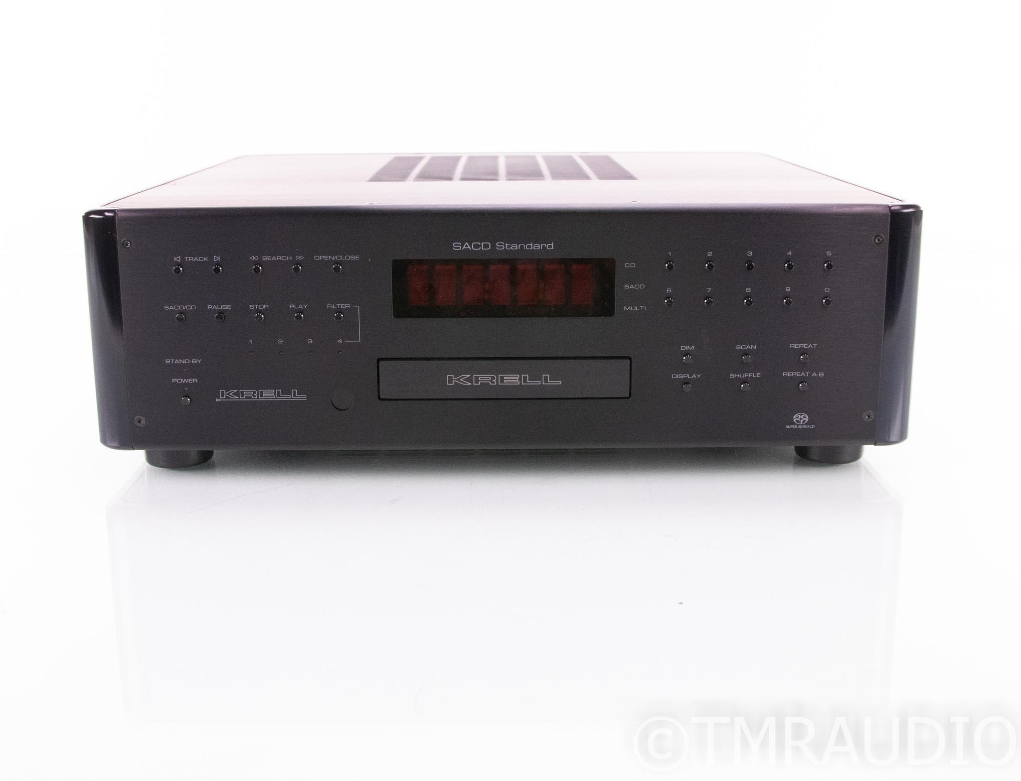 Krell SACD Standard MkII SACD / CD Player