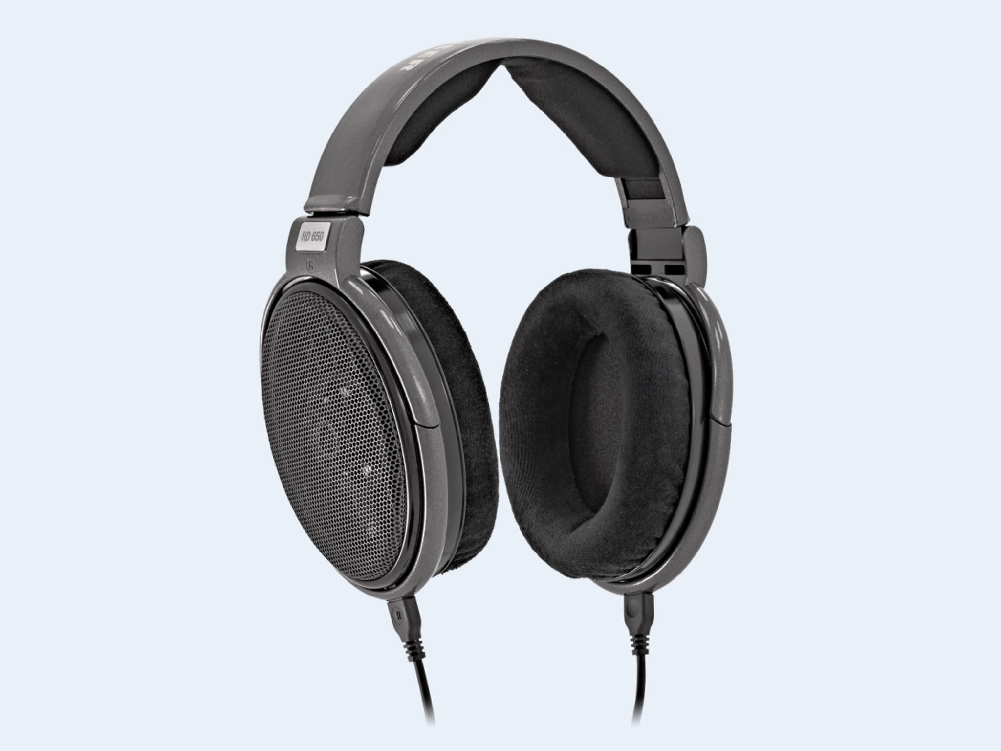 Sennheiser HD 650 Open-Back Headphones; HD-650 (New) - The Music Room
