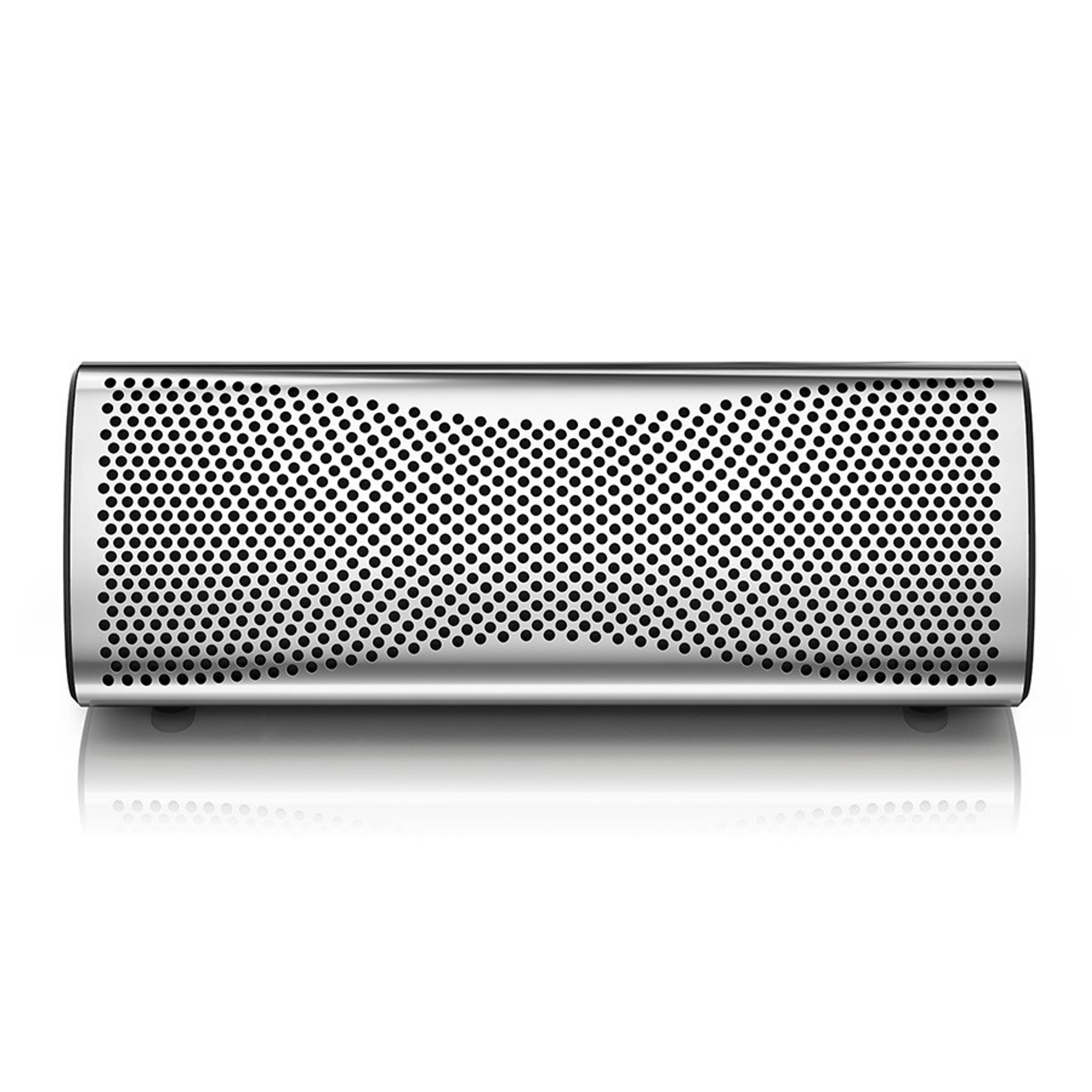 Kef Muo Portable Bluetooth Speaker; Silver (New) - The Music Room