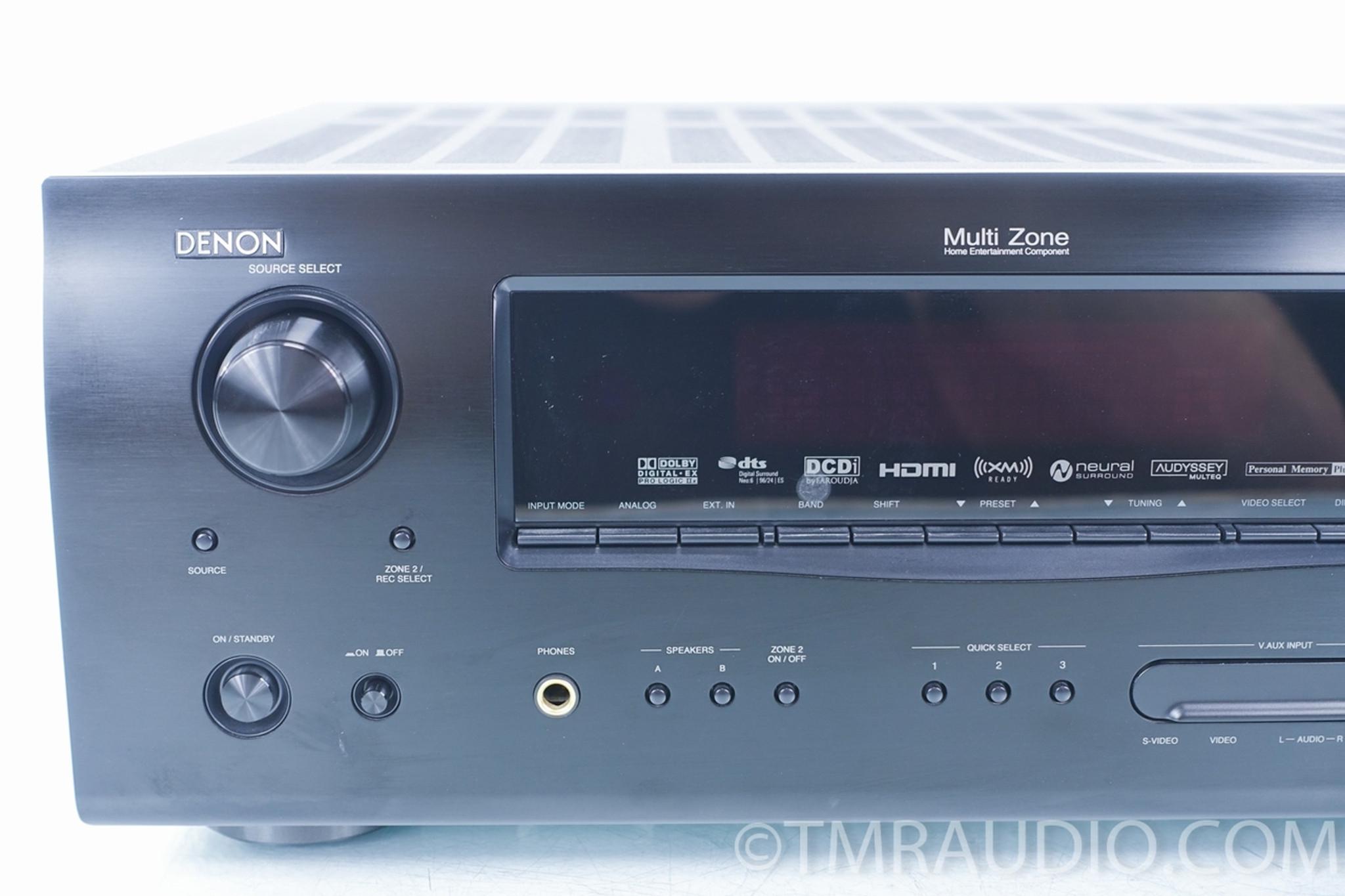 Denon AVR 2308CI 7 1 Channel 700 Watt Receiver HDMI, 2 Zones