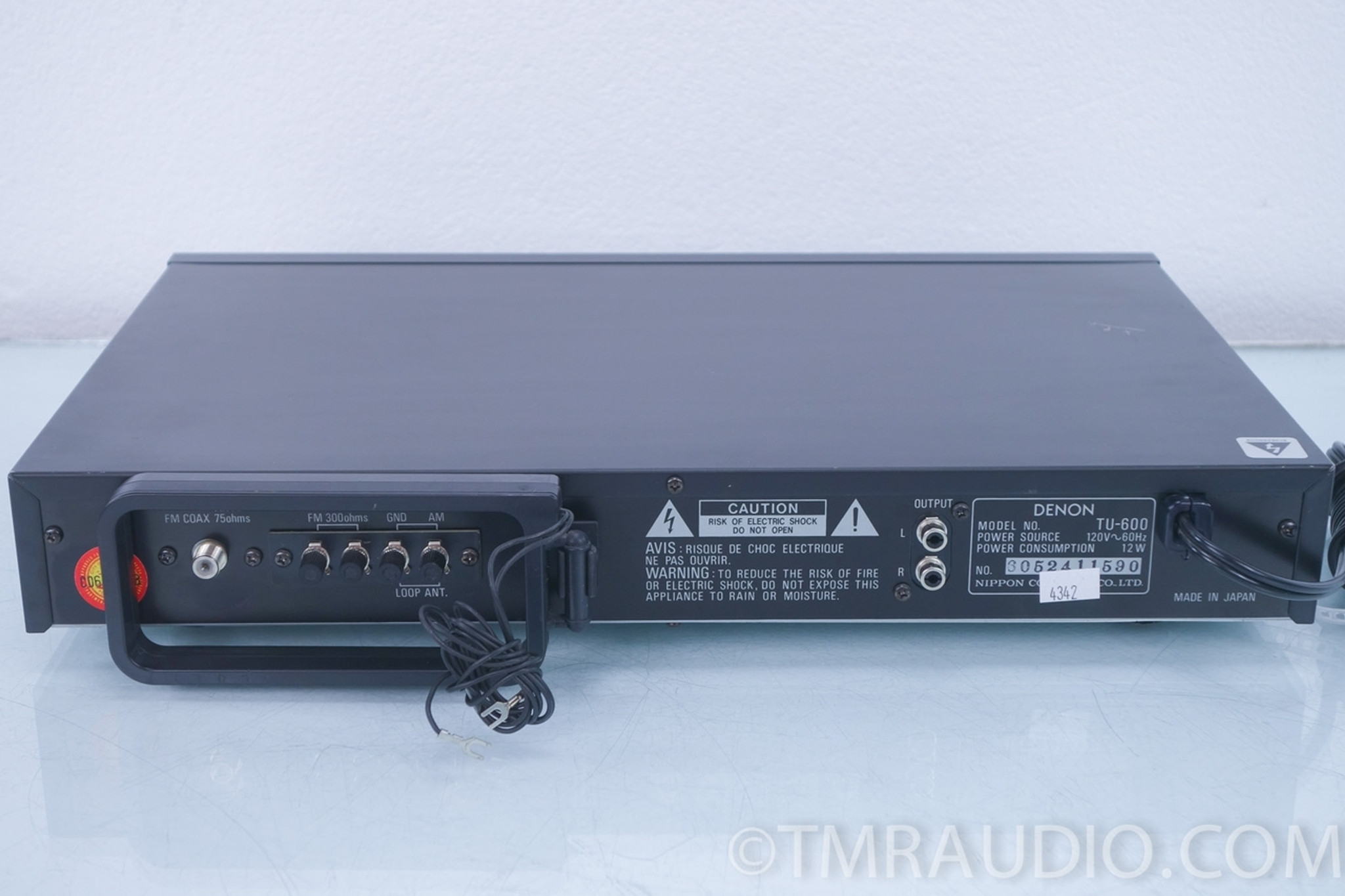 Denon TU-600 Digital AM /FM Stereo Tuner
