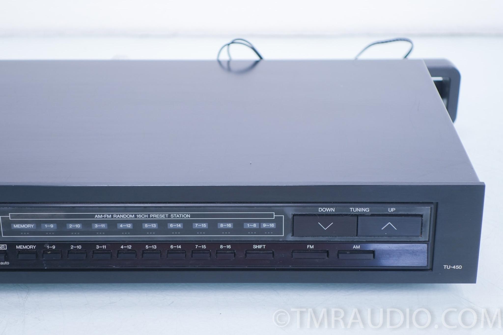 Denon TU-450 Stereo AM / FM Tuner