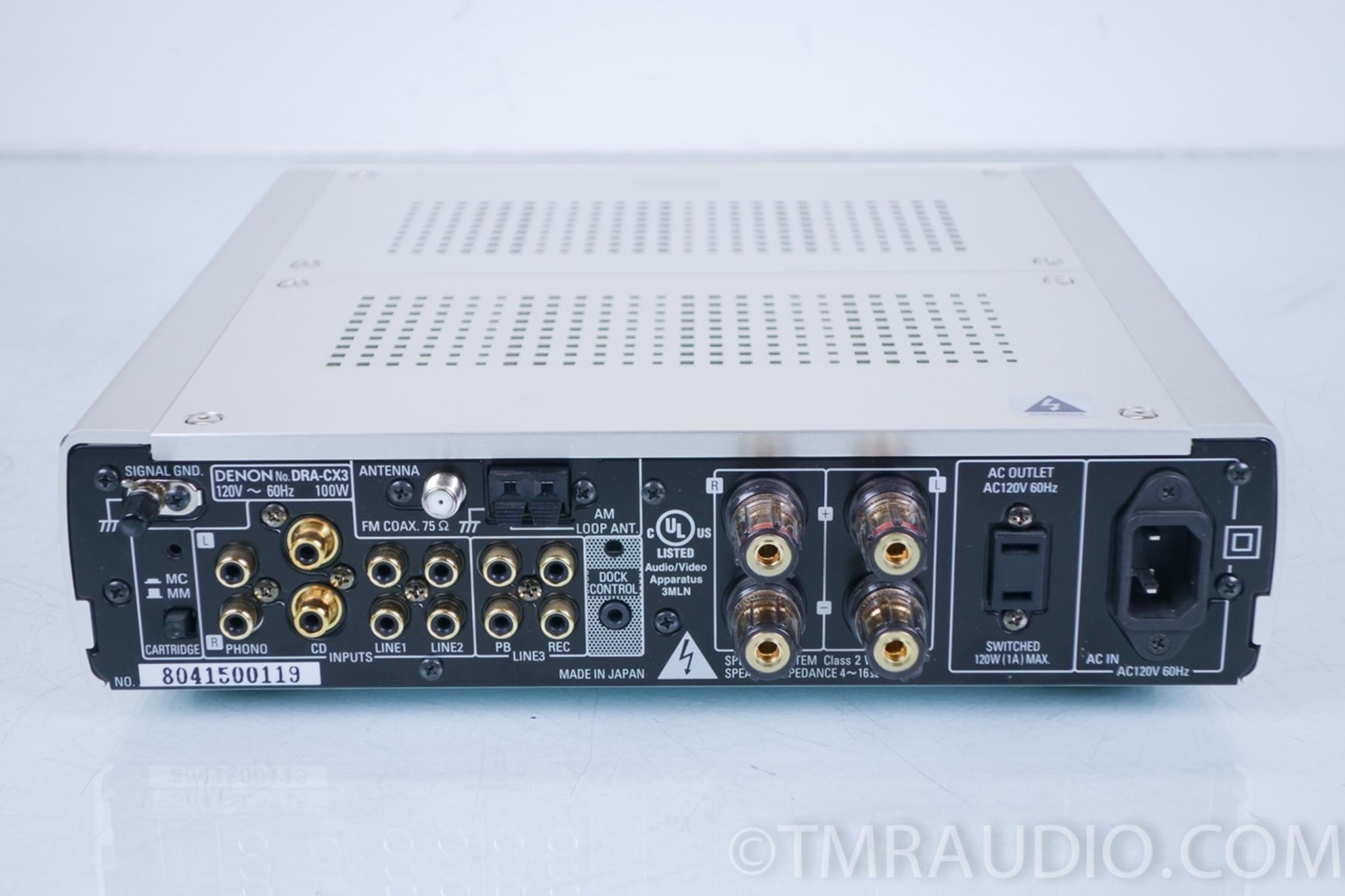 Denon DRA-CX3 Mini Compact Amplifier / Am / FM Receiver in Factory Box