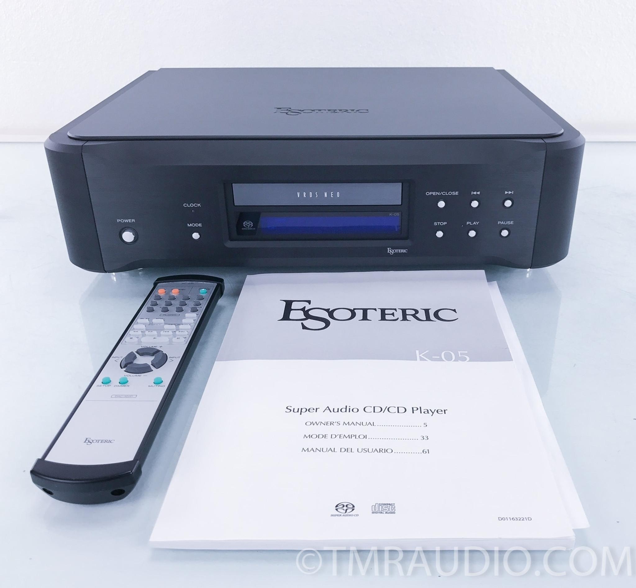 Esoteric K-05 SACD / CD Player