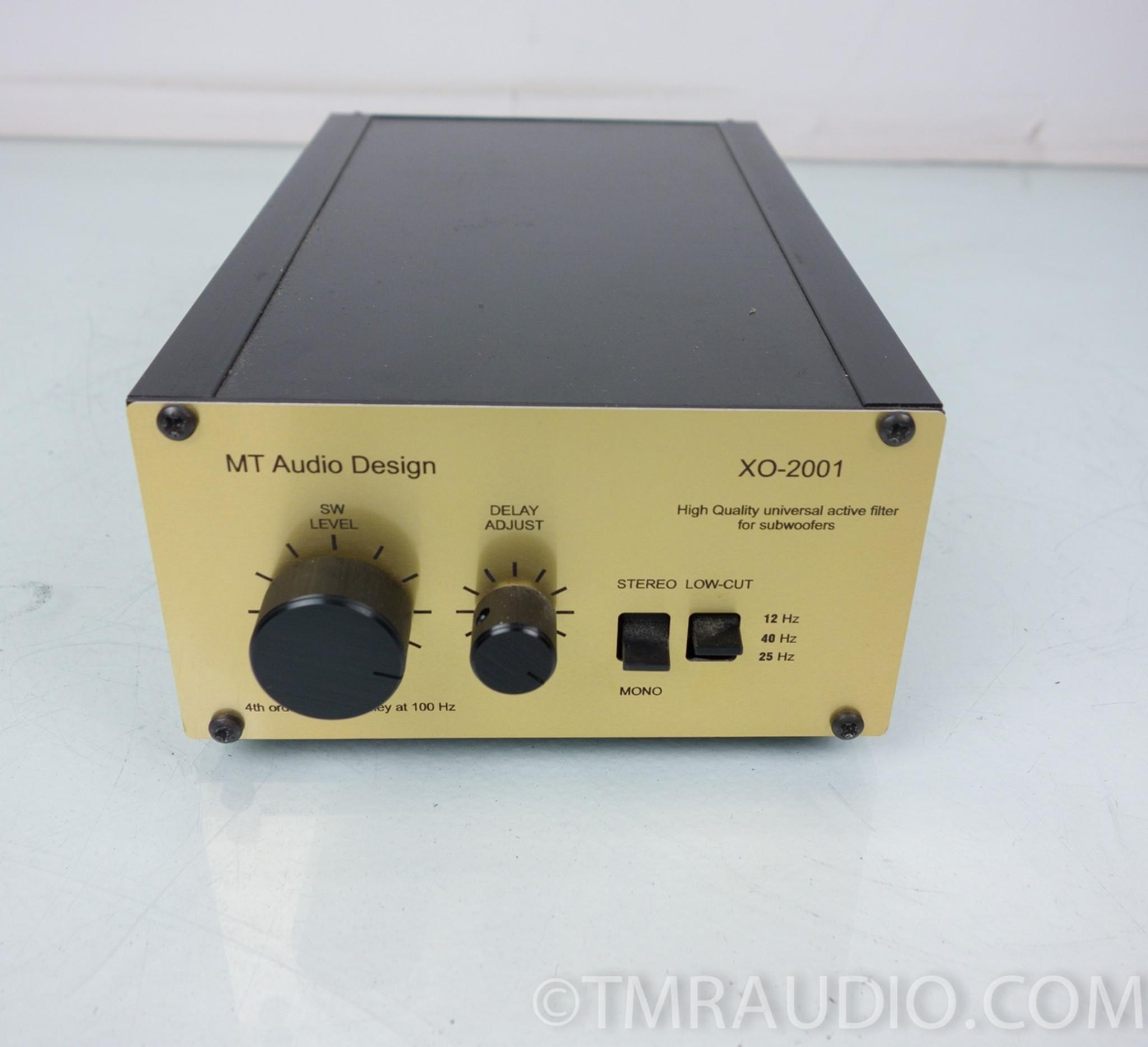 Gradient SW-63 Subwoofer & MT Audio Design XO-2001 X-over (4 Quad ESL63) -  The Music Room