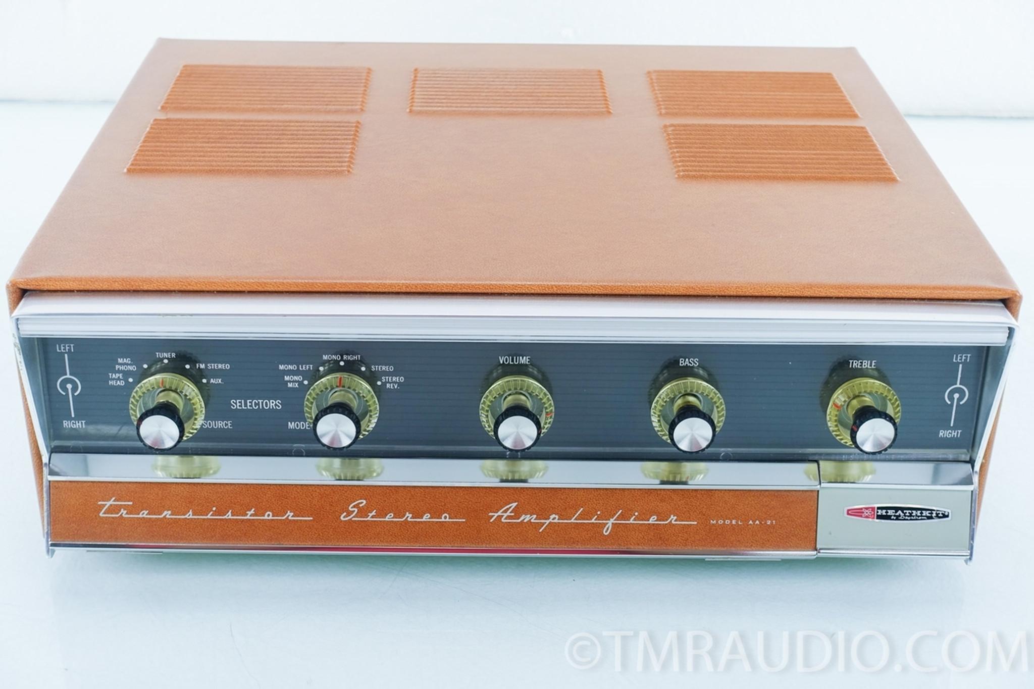 Heathkit AA-21 Vintage Transistor Stereo Amplifier