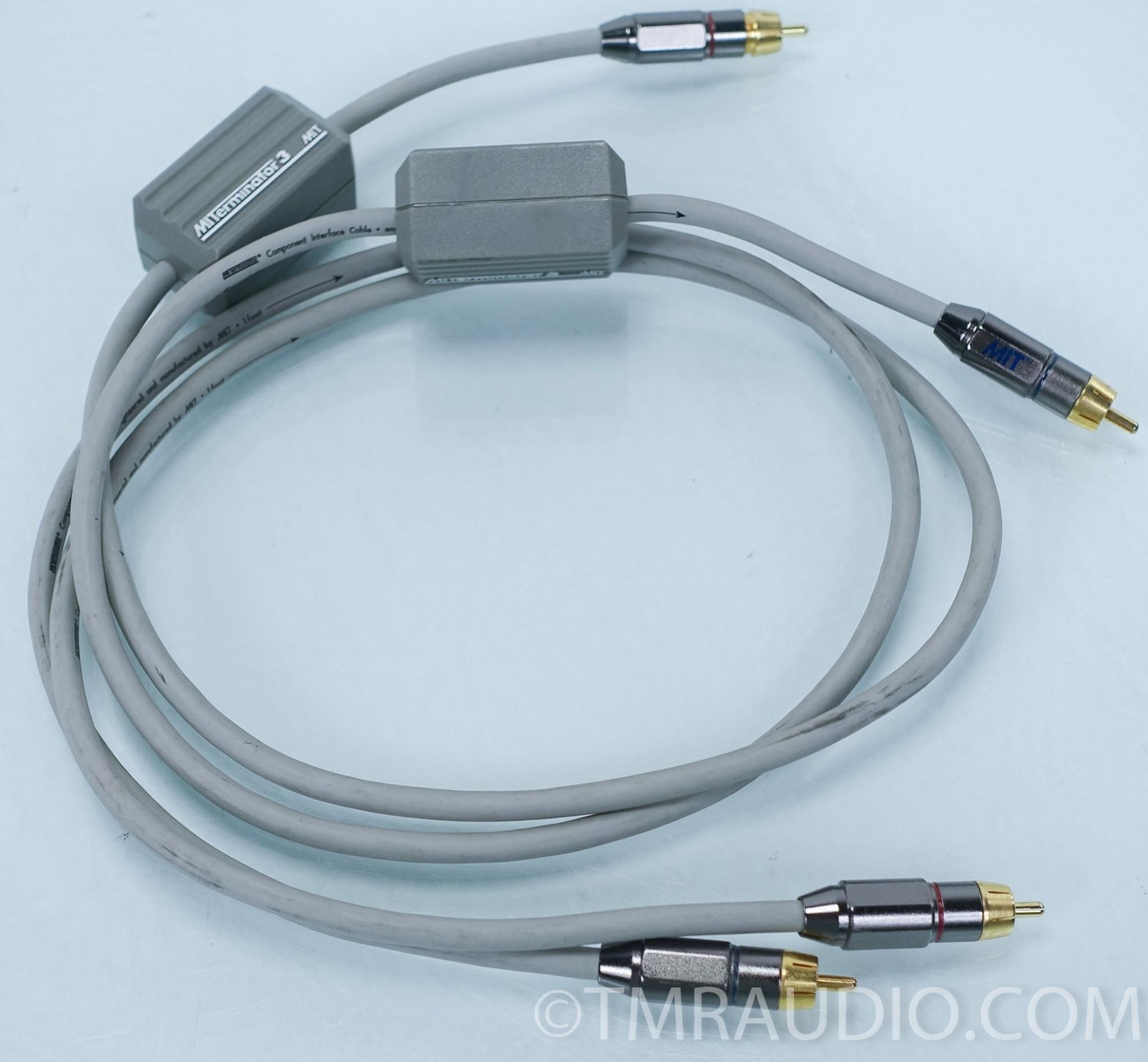 MIT Terminator 3 Interconnect 2 Meter Cables