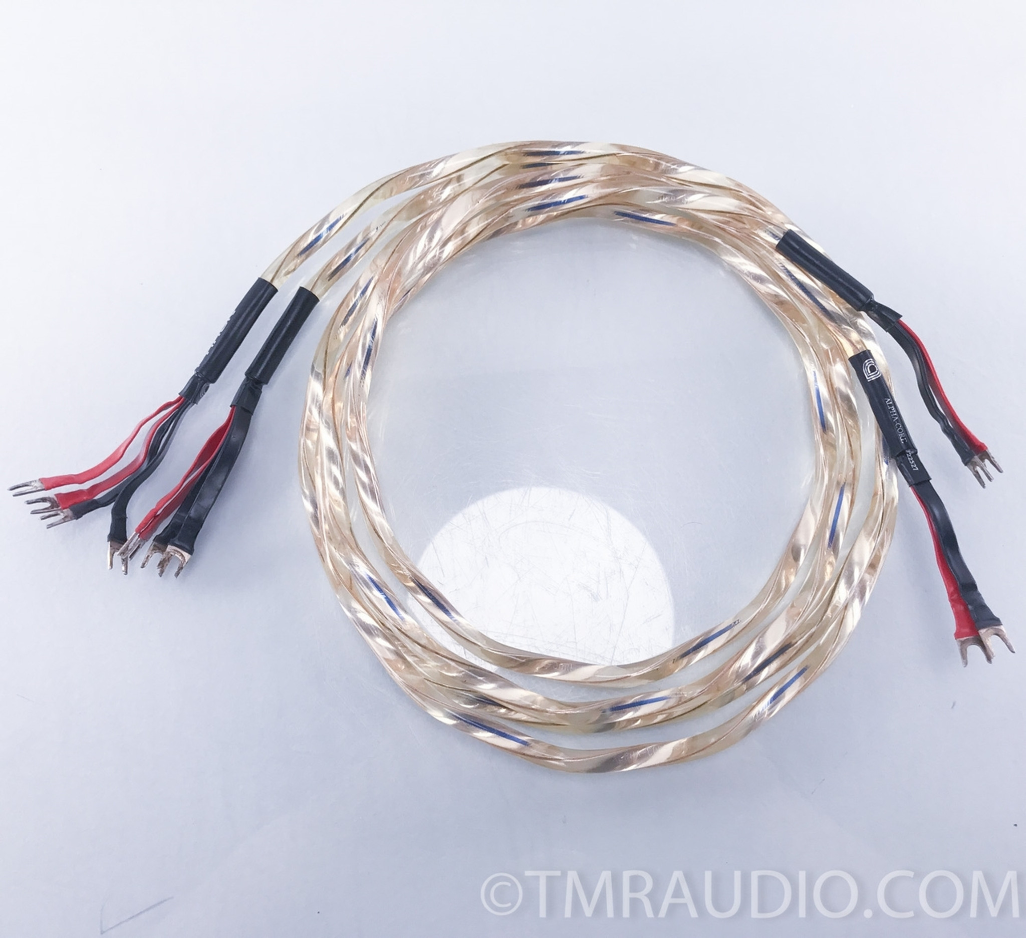 Alpha Core Goertz Python Silver Bi-Wire Speaker Cables