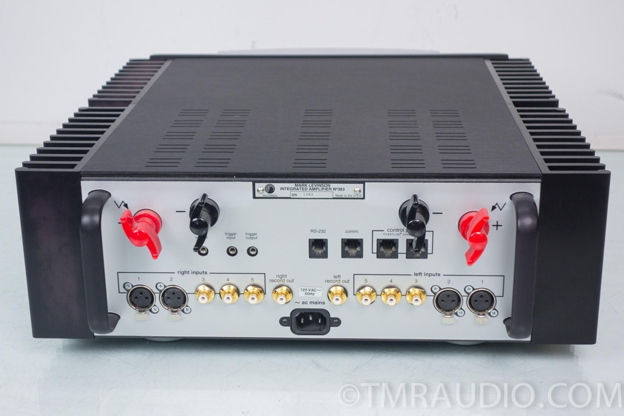 Mark levinson 383  Mark Levinson No 383 integrated amplifier