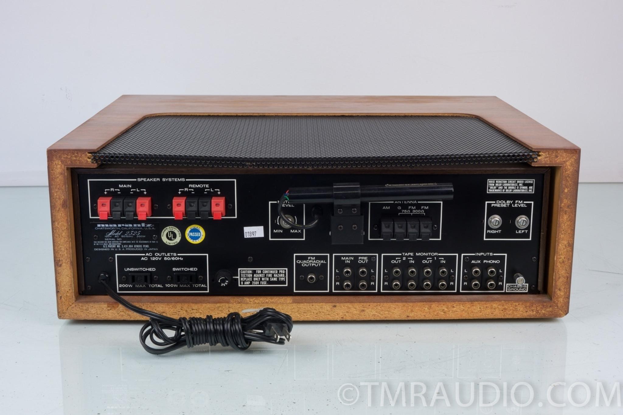 Marantz 2325 Vintage AM/FM Stereo Receiver with Wood Case